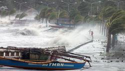 Тайфун Хайн прошелся по Филиппинам