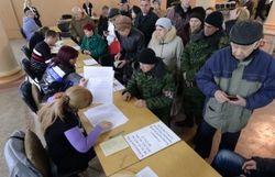 Аксенов уже отдал свой голос на референдуме в Крыму