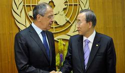 Генсек ООН просит РФ повлиять на боевиков в Украине