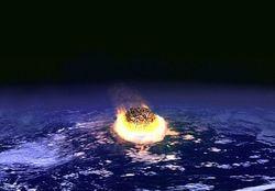 Столкновение Земли с астероидом могло в прошлом вызвать кислотные дожди