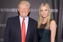 Президент США Дональд Трамп с дочерью Иванкой