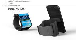 Новый патент Samsung — гибкий смартфон, трансформирующийся в часы-браслет