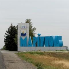 Порошенко в Мариуполе надел эмблему «Укроп» – наш украинский отпор