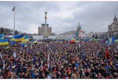 Украина: сегодня исполняется месяц Евромайдану