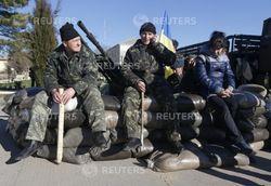 Российская армия захватила воинские части Бельбека
