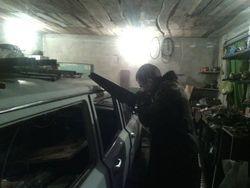 Бойцы ОУН представили новый бронеавтомобиль для зоны АТО