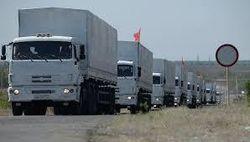КамАЗы «путинского конвоя» теперь подвозят подкрепление россиянам в Донбасс