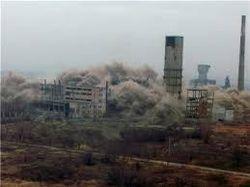 Минируя химобъекты в Славянске, боевики готовят экологическую катастрофу