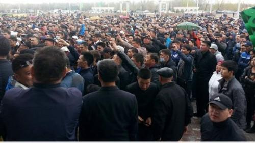 ВКазахстане милиция прекратила митинг протестующих против изменений вЗемельный кодекс