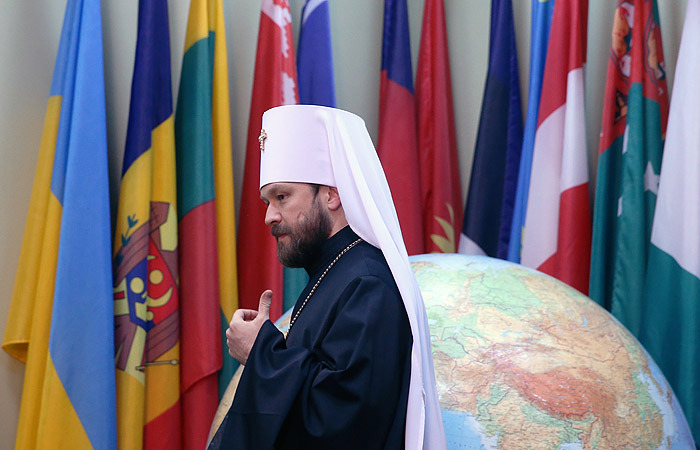 В столицеРФ прошло экстренное совещание Священного синода Русской православной церкви