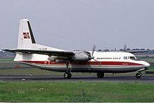 Самолет Фолкнер Ф-27