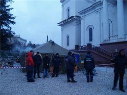 Из-за непогоды мощи св. Георгия Победоносца не привезли в Севастополь