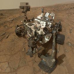 Марсоход «Кьюриосити» перезагрузился из-за перегрева