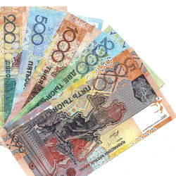 Курс тенге на Форекс снизился к евро