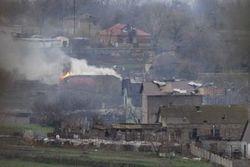 За ночь боевики обстреляли позиции сил АТО 21 раз