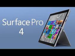 У планшета  Microsoft Surface Pro 4  будет безрамочный экран