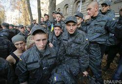 Эксперты называют протест солдат ВВ в Киеве хорошо подготовленной провокацией