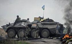 Боевики в Славянске используют минометы и крупнокалиберное оружие