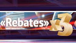 PROFIT Group предложил трейдерам форекс заработать в 3 раза больше с Rebates X3