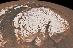 Новый Год на Марсе, возможен ли снег на Красной планете