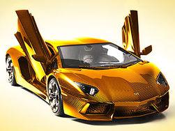 Золотая модель Lamborghini побила рекорд стоимости и попала в Книгу Гиннеса