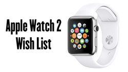 Часы Apple Watch 2 смогут похвастаться камерой FaceTime