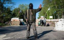 Под Краматорском люди разогнали террористов и разобрали блок-пост