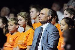 Путину пришлось объяснять 11-летнему мальчику, почему рубль падает