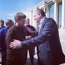 Кадыров в Instagram показал отдых с Аксеновым
