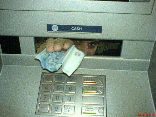 Банк РФ фиксирует прирост количества поддельных купюр вбанкоматах