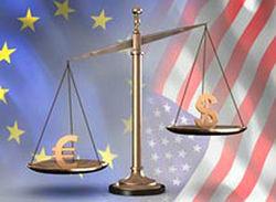 Курс доллара продолжил активный рост к евро на 0,30% на Форекс после данных еврозоны