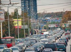 В Екатеринбурге наблюдаются такие же пробки, как в Москве - Яндекс