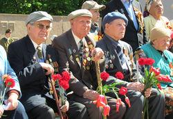 Ветеранов Украины хотели приветствовать гимном РФ