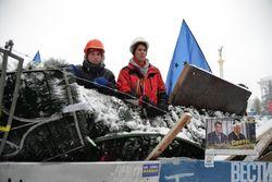 В Киеве зачищен правительственный квартал