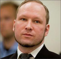В Норвегии сторонники Брейвика заняли основные посты в парламенте
