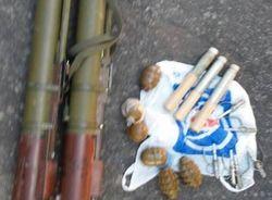 В Днепропетровске задержали диверсантов с гранатометами