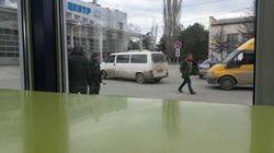 Появилось видео ограбления журналистов в Симферополе
