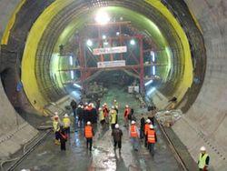 Конфуз: В только что открытом тоннеле под Босфором пропало электричество