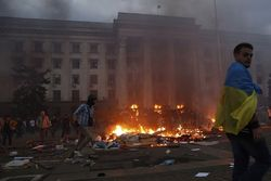 Порошенко назвал трагедию в Одессе планом России