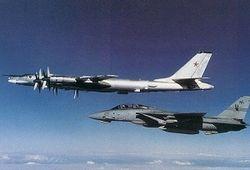 Российские ТУ-95 провоцировали ВВС Нидерландов