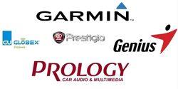 25 популярных брендов и продавцов GPS-навигаторов июля 2014г. в Интернете