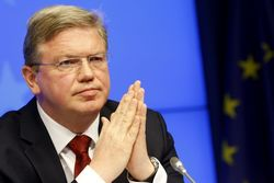 Фюле призвал договориться о создании зоны свободной торговли между ЕС и ТС