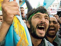 Крымские татары Турции требуют изгнания российских оккупантов