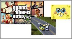 40 наиболее популярных в Интернете игр для мальчиков августа 2014г.