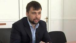 Главарь ДНР Пушилин из Москвы отверг мирный план Порошенко
