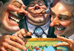 Большинство россиян верят в мировое правительство