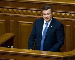 Януковичу хватило 15 минут для общения с депутатами Верховной Рады