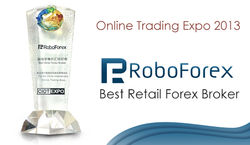 RoboForex признан в Азии лучшим розничным Форекс брокером 2013 года