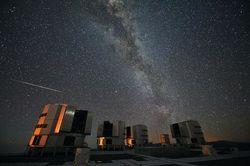 Наземный телескоп ЕКА VST смог рассмотреть на ночном небе обсерваторию Gaia