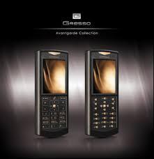 Gresso презентовала титановый смартфон за 2500 тысяч долларов